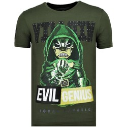 Textiel Heren T-shirts korte mouwen Local Fanatic Villain Duck G Groen