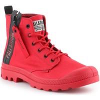 Schoenen Heren Hoge sneakers Palladium Manufacture Pampa Unzipped 76443-614-M red