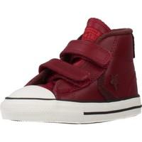 Schoenen Jongens Hoge sneakers Converse STAR PLAYER 2V MID Rood