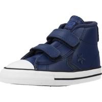 Schoenen Jongens Hoge sneakers Converse STAR PLAYER 2V ASTEROID Blauw