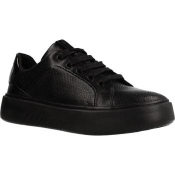 Schoenen Dames Lage sneakers Geox D NHENBUS Zwart