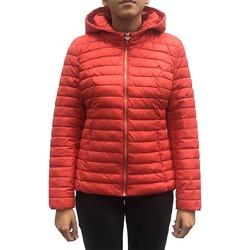 Textiel Dames Mantel jassen LPB Woman Les Petites bombes Doudoune Capuche Rouge W19V8508 Rood