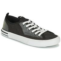 Schoenen Heren Lage sneakers Guess NETTUNO LOW Zwart / Grijs