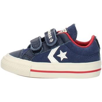 Schoenen Jongens Lage sneakers Converse 762767C Blue