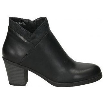 Schoenen Dames Enkellaarzen Deity YSY16573-ME Noir