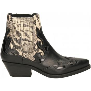 Schoenen Dames Enkellaarzen Janet&Janet AMANDA/INGRID/MARGOT nero-roccia