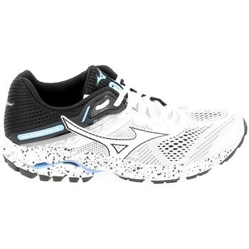 Schoenen Dames Running / trail Mizuno Wave Inspire 15 Blanc Noir Wit