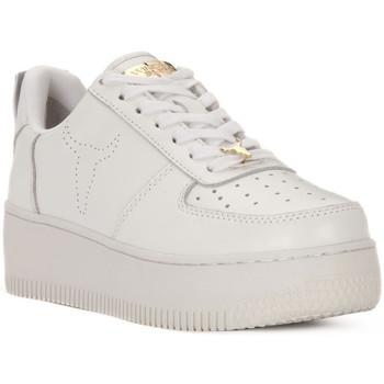 Schoenen Dames Lage sneakers Windsor Smith RACERR WHITE Bianco