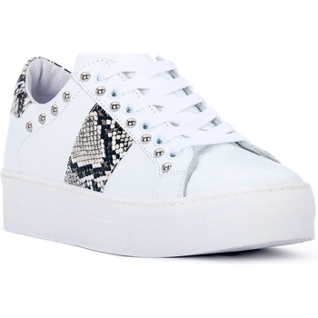 Schoenen Dames Lage sneakers At Go GO GALAXY BIANCO Bianco