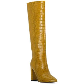 Schoenen Dames Hoge laarzen Priv Lab OCRA COCCO Giallo