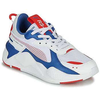 Schoenen Kinderen Lage sneakers Puma RS-X Wit / Blauw / Rood