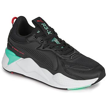 Schoenen Heren Lage sneakers Puma RS-X Zwart / Wit