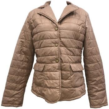 Textiel Dames Dons gevoerde jassen By La Vitrine Doudoune Beige  HK2028 Beige