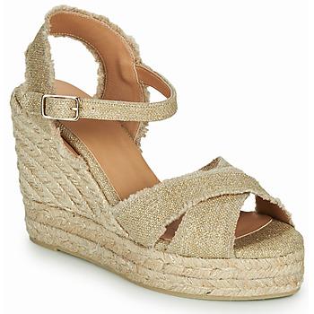 Schoenen Dames Sandalen / Open schoenen Castaner BROMELIA Goud