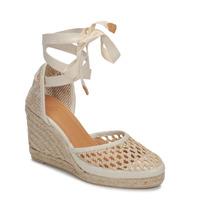 Schoenen Dames Sandalen / Open schoenen Castaner CAROLA Creme