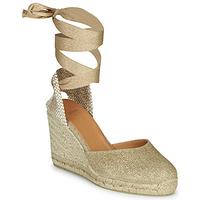 Schoenen Dames Sandalen / Open schoenen Castaner CARINA Goud