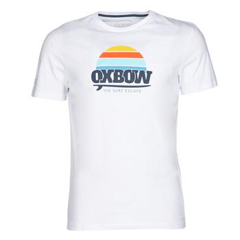 Textiel Heren T-shirts korte mouwen Oxbow M1TEKSO Wit