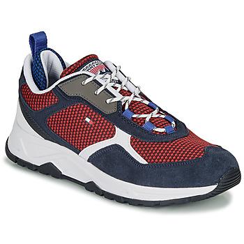 Schoenen Heren Lage sneakers Tommy Hilfiger FASHION MIX SNEAKER Blauw