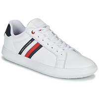Schoenen Heren Lage sneakers Tommy Hilfiger ESSENTIAL LEATHER CUPSOLE Wit
