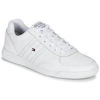 Schoenen Heren Lage sneakers Tommy Hilfiger LIGHTWEIGHT LEATHER SNEAKER Wit