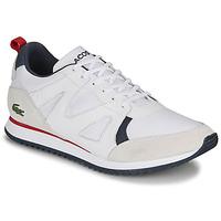 Schoenen Heren Lage sneakers Lacoste AESTHET 120 2 SMA Wit / Blauw / Rood