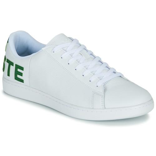 Schoenen Heren Lage sneakers Lacoste CARNABY EVO 120 7 US SMA Wit / Groen