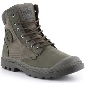 Schoenen Hoge sneakers Palladium Pampa Sport Cuff WPN 73234-309-M green