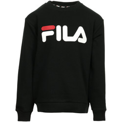 Textiel Kinderen Sweaters / Sweatshirts Fila Kids Classic Logo Crew Sweat Zwart