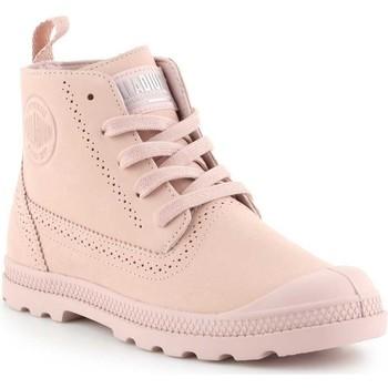 Schoenen Dames Laarzen Palladium Manufacture Pampa LDN LP 96468-612-M pink