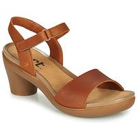 Schoenen Dames Sandalen / Open schoenen Art ALFAMA Bruin