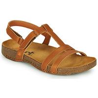 Schoenen Dames Sandalen / Open schoenen Art I BREATHE Bruin