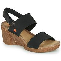 Schoenen Dames Sandalen / Open schoenen Art ROTTERDAM Zwart