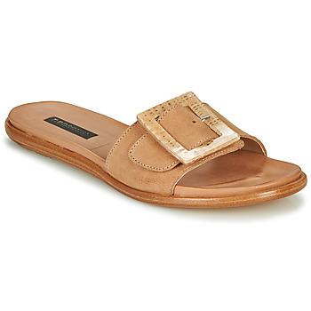Schoenen Dames Leren slippers Neosens AURORA Beige