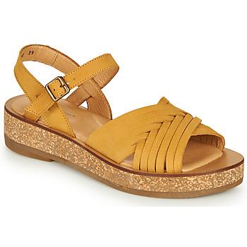 Schoenen Dames Sandalen / Open schoenen El Naturalista TÜLBEND Geel