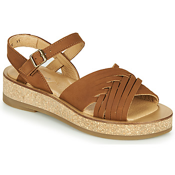 Schoenen Dames Sandalen / Open schoenen El Naturalista TÜLBEND Bruin