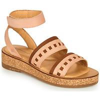 Schoenen Dames Sandalen / Open schoenen El Naturalista TüLBEND Roze / Bruin