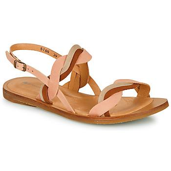 Schoenen Dames Sandalen / Open schoenen El Naturalista TULIP Roze / Bruin / Beige