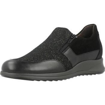 Schoenen Dames Mocassins Mateo Miquel 3079 Zwart