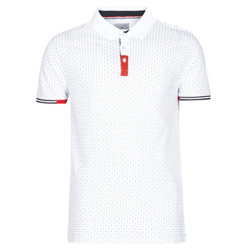 Textiel Heren Polo's korte mouwen Casual Attitude NELLY Wit
