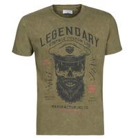 Textiel Heren T-shirts korte mouwen Casual Attitude MCOOL Kaki