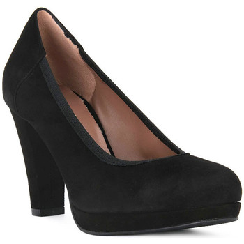 Schoenen Dames pumps Priv Lab NERO CAMOSCIO Nero