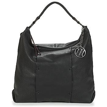 Tassen Dames Handtassen lang hengsel Moony Mood LOUTIS Zwart