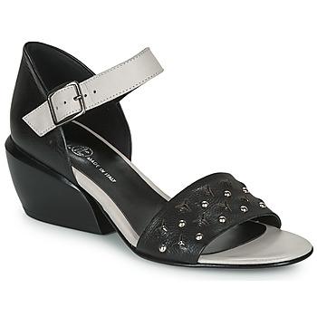 Schoenen Dames Sandalen / Open schoenen Fru.it  Zwart / Wit