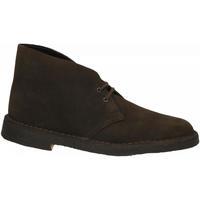 Schoenen Heren Laarzen Clarks DESERT BOOTS brown