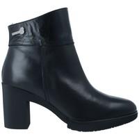 Schoenen Dames Enkellaarzen Wonders M-3731 Botines Dry de Mujer zwart