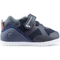 Schoenen Kinderen Lage sneakers Biomecanics BEBÉ PUNTA R. LAARZEN AZUL_MARINO