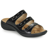 Schoenen Dames Leren slippers Romika IBIZA 66 Zwart