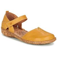 Schoenen Dames Sandalen / Open schoenen Josef Seibel ROSALIE 42 Geel