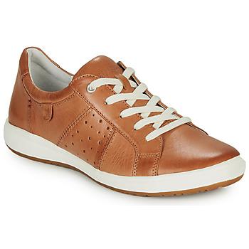 Schoenen Dames Lage sneakers Josef Seibel CAREN 01 Camel