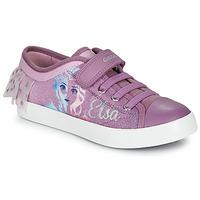 Schoenen Meisjes Lage sneakers Geox JR CIAK GIRL Violet